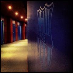 Photo taken at Camp Nou by Aleix on 5/19/2013