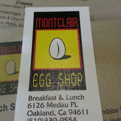 Photo taken at Montclair Egg Shop by Kahlil N. on 5/5/2013