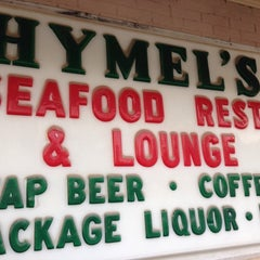 Photo taken at Hymel's Seafood Restaurant by Whitney R. on 4/13/2014