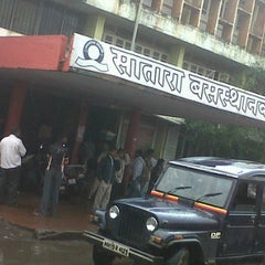 Photo taken at Satara Bus Stand by Reagan S. on 10/7/2012