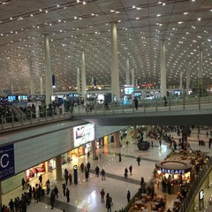 Photo taken at Beijing Capital Int'l Airport 北京首都国际机场 (PEK) by 🇨🇳Vladimir . on 12/18/2012