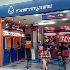 Photo taken at ธนาคารกรุงเทพ (Bangkok Bank) by นะโม ส. on 4/22/2013