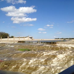 Photo taken at White Rock Lake Spillway by Kari E. on 11/9/2012