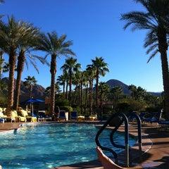 Photo taken at Hyatt Regency Indian Wells Resort & Spa by Katria M. on 10/28/2012