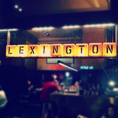 Photo taken at Lexington by Sergi P. on 10/20/2012