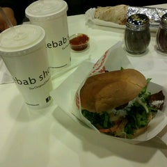 Photo taken at The Kebab Shop by Paulina D. on 2/26/2013