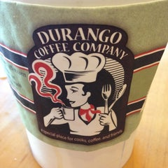 Photo taken at Durango Coffee Company by Ginger L. on 11/26/2012
