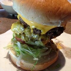 Photo taken at Stella's Hamburgers by Danielle L. on 4/25/2013