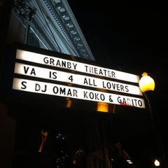 Photo taken at Granby Theater by Michael L. on 2/15/2014
