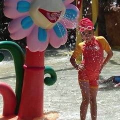 Photo taken at Fantasia Lagoon (แฟนตาเซีย ลากูน) by Thitibund N. on 5/15/2013