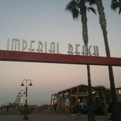 Photo taken at Imperial Beach Pier by Charles B. on 11/17/2013