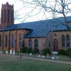 Photo taken at Trinity Episcopal Church by Alex D. on 3/31/2013