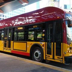 Photo taken at Bellevue Transit Center by Stuart B. on 7/27/2013