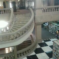 "Photo taken at Biblioteca - ""El Rey"" by CanKer D. on 1/30/2013"