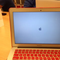Photo taken at Apple Store, Century City by Giovanni F. on 10/24/2013
