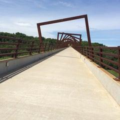Photo taken at Woodward High Trestle Trail Trailhead by Franklin V. on 6/21/2014