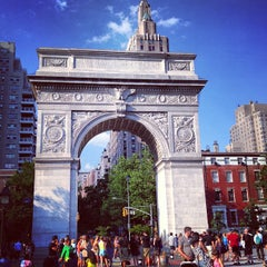 Photo taken at Washington Square Park by Desirée D. on 6/29/2013