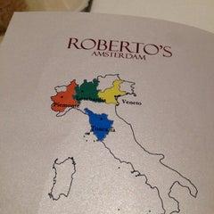 Photo taken at Roberto's Restaurant by Elisabeth P. on 3/14/2014