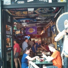 Photo taken at Taqueria Lower East Side by .oo. on 6/2/2013