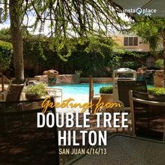 Photo taken at Doubletree by Hilton San Juan by Garnot P. on 4/14/2013