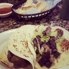 Photo taken at Tink-A-Taco Mexican Food & Cantina by Andres V. on 9/5/2013