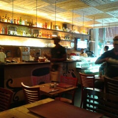 Photo taken at John John Cafe by ana maria g. on 2/8/2013