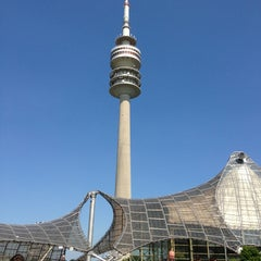 Photo taken at Olympiapark by Sonya L. on 7/17/2013