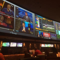 Photo taken at The Mirage Race & Sports Book by Peeje T. on 10/15/2015