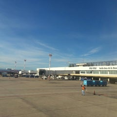 Photo taken at Aeropuerto Internacional Viru Viru (VVI) by W J. on 5/6/2013
