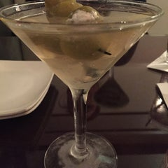 Photo taken at Olive Black Martini and Wine Lounge by Meghan on 11/29/2014