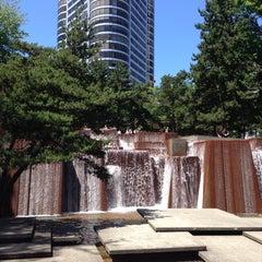 Photo taken at Ira C. Keller Fountain by Krys R. on 6/3/2013