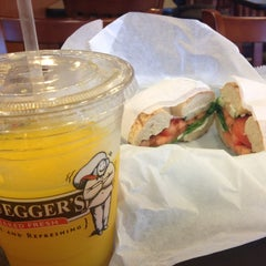 Photo taken at Bruegger's by Saad on 12/3/2012