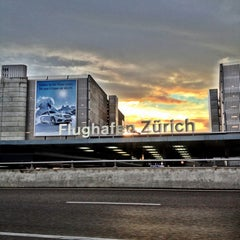 Photo taken at Zürich Airport (ZRH) by Patricia N. on 10/10/2013