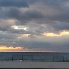 Photo taken at Long Branch Beach by ron n. on 1/18/2013
