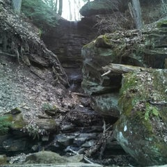 Photo taken at Squaw Rock by Lisa M. on 4/16/2013