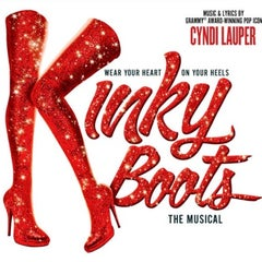 Photo taken at Kinky Boots at the Al Hirschfeld Theatre by Stanley C. on 7/24/2013