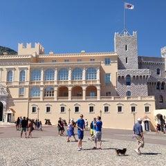 Photo taken at Palais Princier de Monaco by Monica G. on 8/20/2013