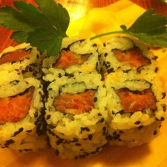 Photo taken at Tsuru Sushi all'Osteria by Daniela G. on 1/17/2013