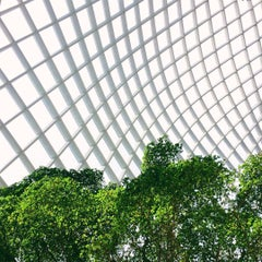 Photo taken at Kogod Courtyard by Justin B. on 7/15/2015