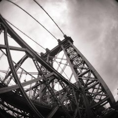 Photo taken at Williamsburg Bridge by Pao &. on 7/14/2013