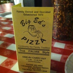 Photo taken at Big Ed's Pizza by Elizabeth C. on 1/31/2013