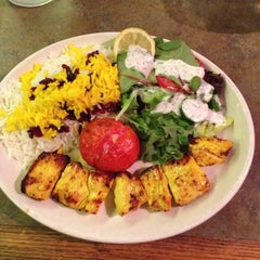Photo taken at Reyhan Persian Grill by Ross M. on 9/28/2014