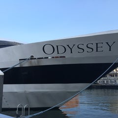 Photo taken at Odyssey Cruises by Lauren W. on 6/10/2015