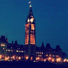 Photo taken at Parliament Hill by Annie G. on 11/20/2012