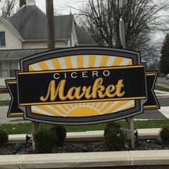 Photo taken at Cicero Market by Tim R. on 12/31/2015