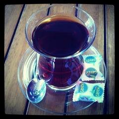 Photo taken at Çaykur Çay Evi by Şahin Y. on 4/28/2013