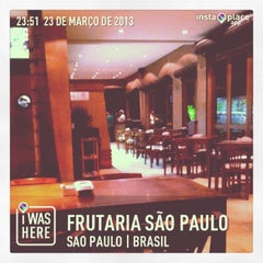 Photo taken at Frutaria São Paulo by Adriano A. on 3/24/2013