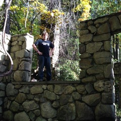 Photo taken at Bull Hill Trail by Brian N. on 10/20/2012