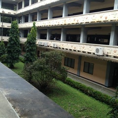 Photo taken at University of San Carlos / USC-TC - Bunzel Building by Jasper R. on 1/16/2013