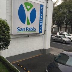 Photo taken at Farmacia San Pablo by Alejandra R. on 1/20/2016
